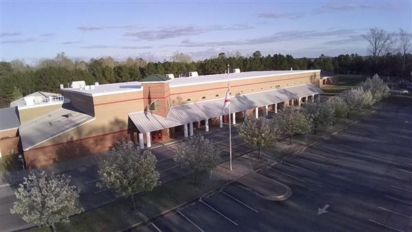 Aerial Photo of Handley Middle School